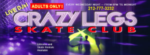 Crazy Legs Skate Club Facebook Banner Ad